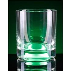 Зеленый светящийся бокал GlasShine