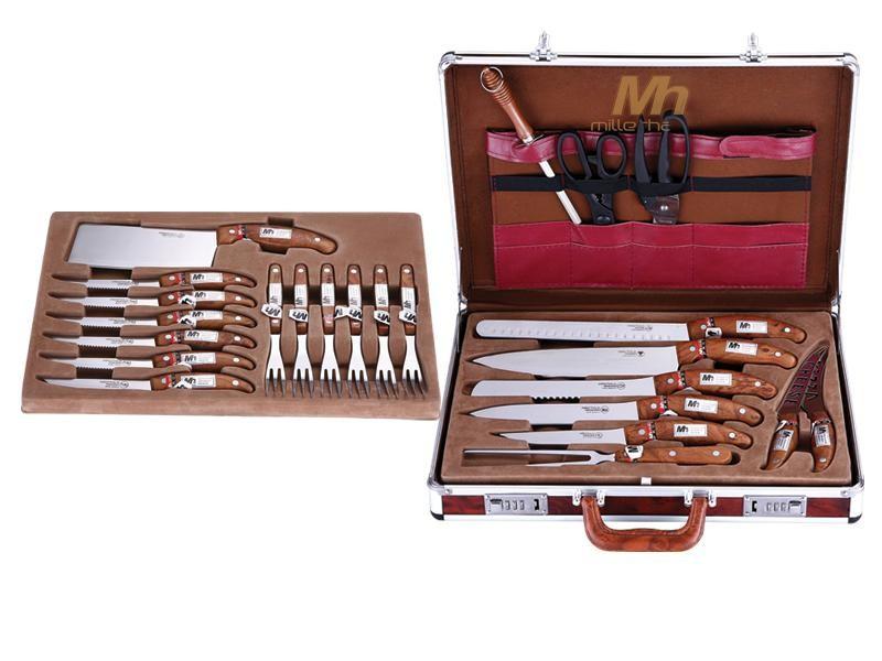 Набор ножей Millerhaus в кейсе (25 предметов)