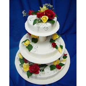 Торт «Цветы любви»