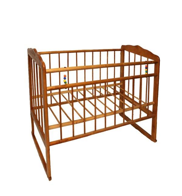 Кровать-качалка Женечка-3, цвет: светлый