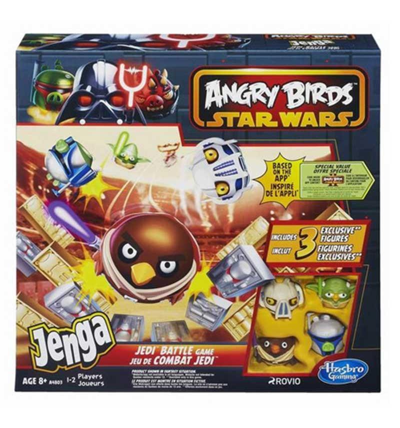 Настольная игра Дженга. Атака Клонов Angry Birds Star Wars