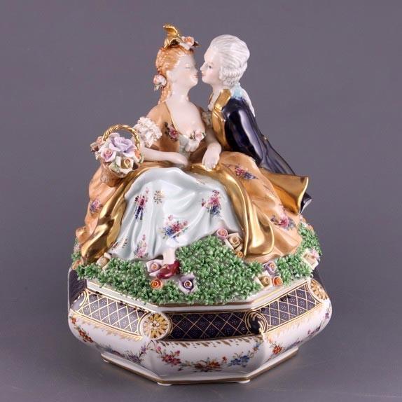 Шкатулка декоративная «Влюбленные»