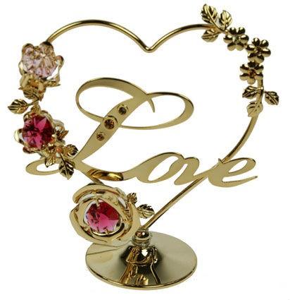 Фигурка Swarovski Love сердце на подвеске