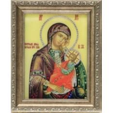 Икона Божией Матери Утоли мои печали Swarovski