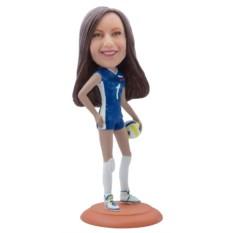 Статуэтка спортсменка по фото Звезда волейбола