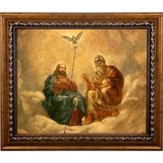 Икона на холсте Живоначальная Троица (Новозаветная Троица)