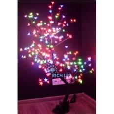 Светодиодное дерево Сакура 1,1х0,75 м (цвет: хамелеон)