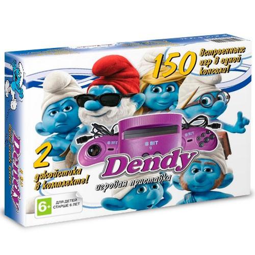 Игровая приставка Dendy Смурфики + 150 игр