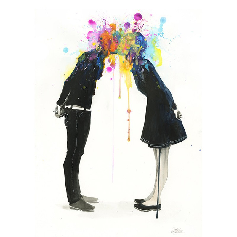 Постер Big Bang Kiss А2