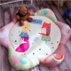 Теплый детский игровой коврик Подружки-лисички