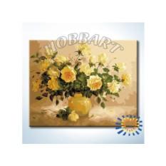 Картины по номерам «Чайная роза»