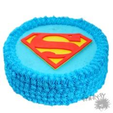 Именной торт Супермен