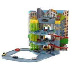 Детская игрушка Парковка и 5 машинок Majorette