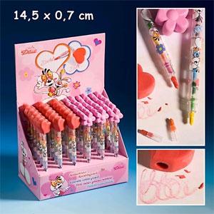 Diddl карандаш цветной стираемый