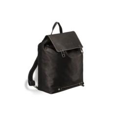 Черный кожаный рюкзак Brialdi Laredo