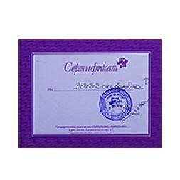 Подарочный сертификат в студию красоты З'АРТ