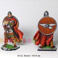 Оловянный солдатик Викинг, VIII-IX вв.