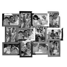 Коллаж из двенадцати фоторамок Додека Металл