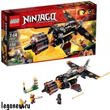 Конструктор Скорострельный истребитель Коула Lego