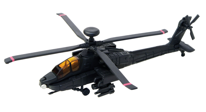 Пазл Ударный вертолет АН-64 «Апач» (черный)