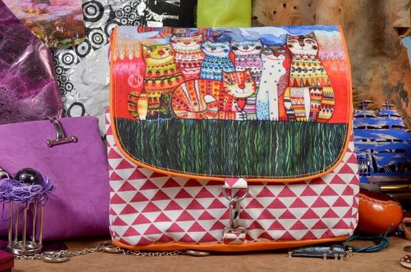 Текстильный рюкзак Кошачье семейство из коллекции Socotra