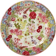 Тарелка для канапе Gien Многоцветие