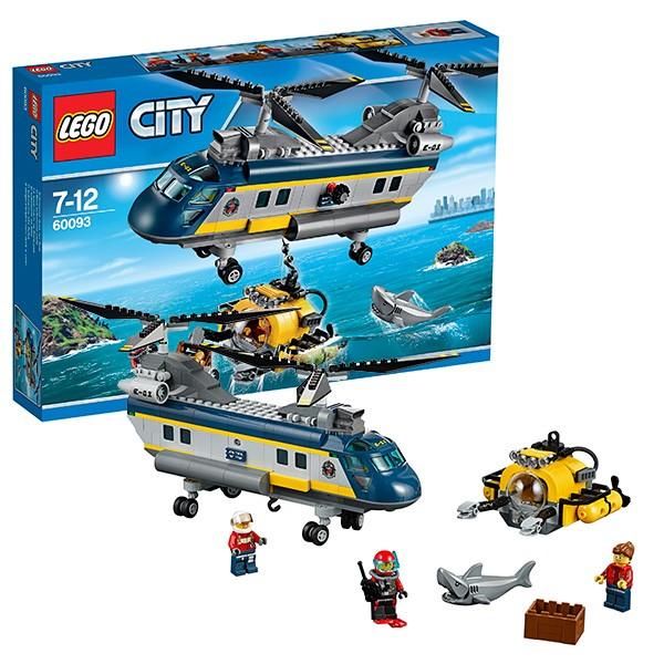 Конструктор Lego City Исследовательский вертолет