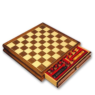 Шахматы и шашки DELUX