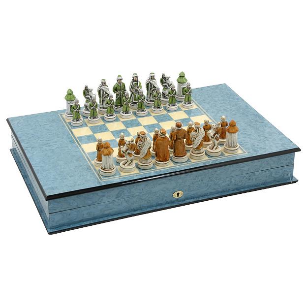 Шахматы и нарды подарочные «1000-летие Казани»