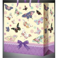 Пакет для подарка Бабочки