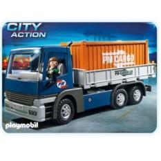 Конструктор Playmobil Грузовой автомобиль с контейнером