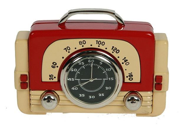 Настольные часы Ретро радио