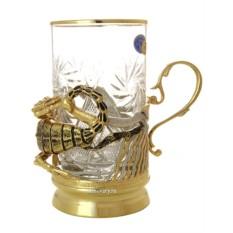 Позолоченный чайный набор Скорпион
