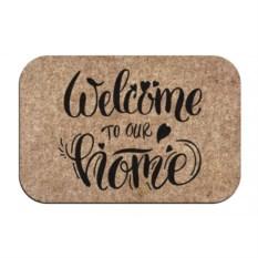 Придверный коврик Welcome to our home