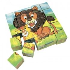 Набор кубиков Животные