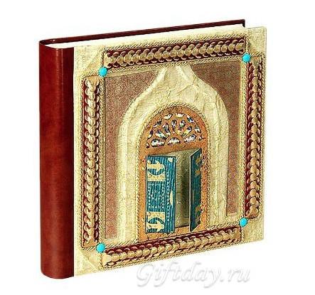Кожаный фотоальбом Arabo 4