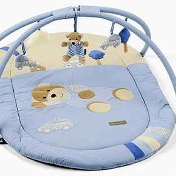 Развивающий коврик с игрушками Медвежонок Билли