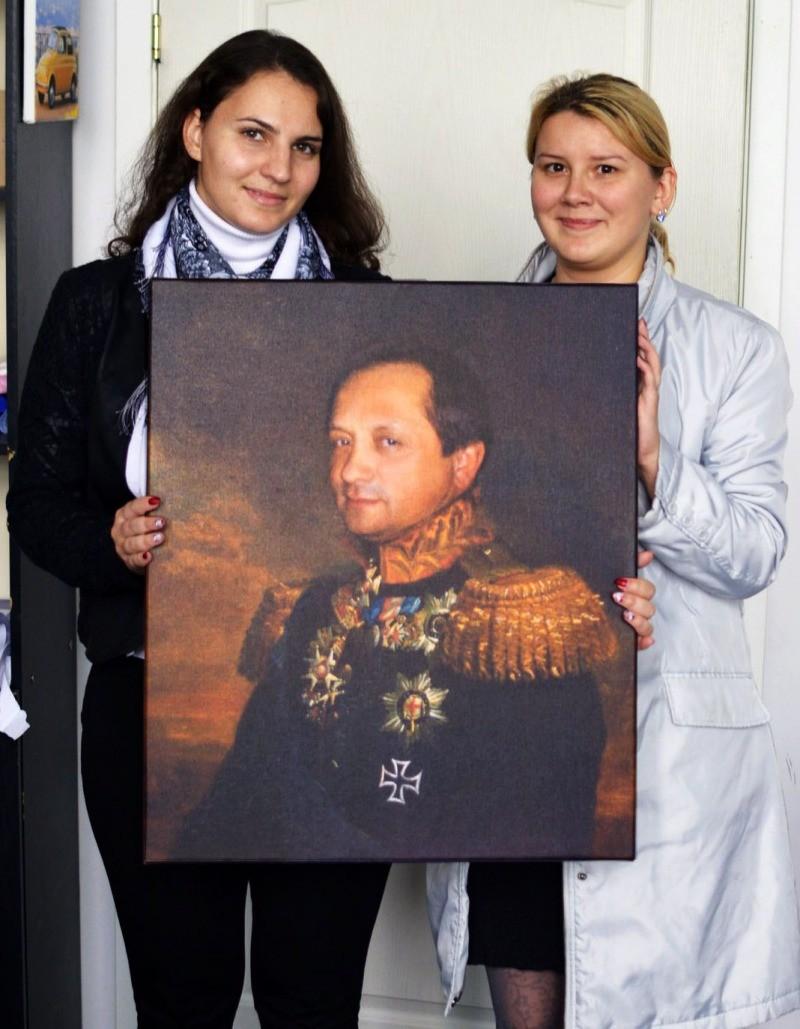 Заказать портрет с фотографии, Портрет на заказ в Люберцах и 84
