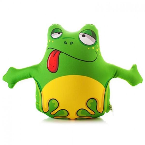 Подушка-игрушка антистресс Лягушонок