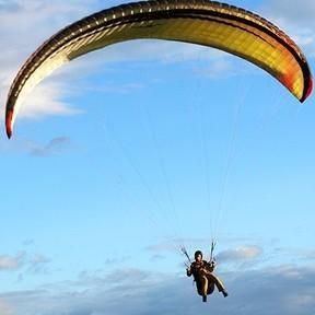 Купон Тандемный полет на параплане с инструктором