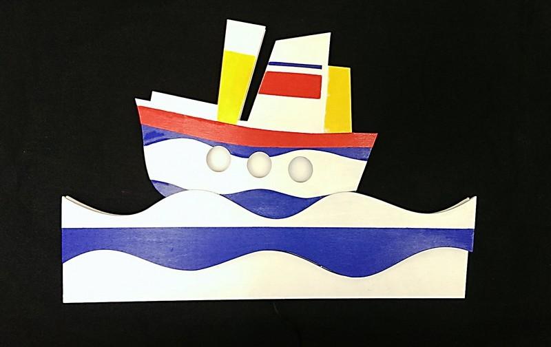 Светильник Кораблик