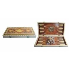 Настольная игра Нарды, размер 39х19,5х3,5 см