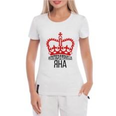 Женская футболка Императрица Яна