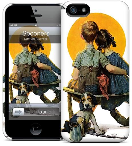 Чехол для iPhone 5 Gelaskins Spooners