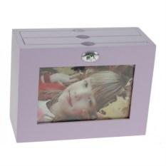 Фиолетовый архивный фотоальбом Moretto на 48 фото