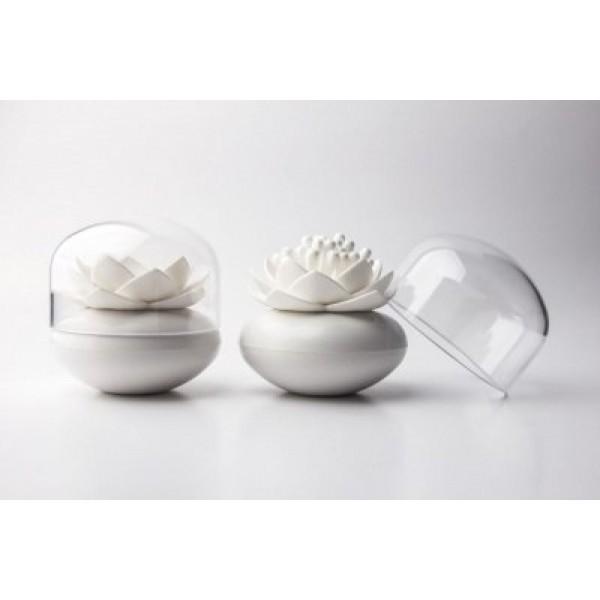 Контейнер для хранения ватных палочек Lotus, белый