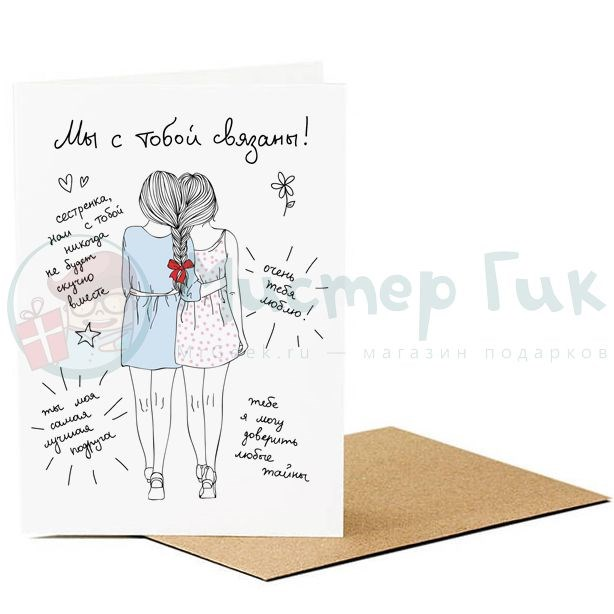 Как подписать открытку на день рождения подруге коротко с именем