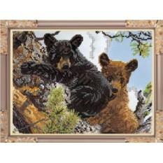 Набор для вышивания бисером Медвежата