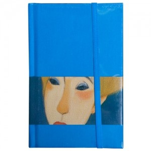 """Блокнот """"Портрет в голубом"""""""