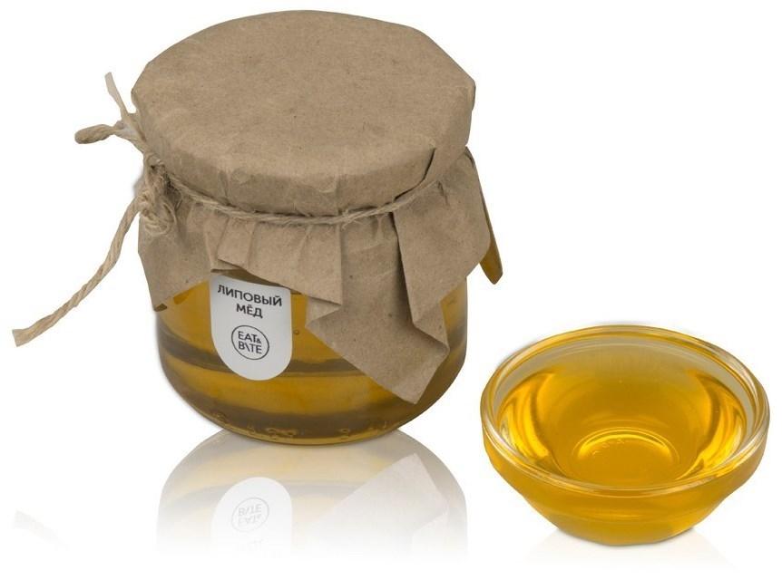 Мёд в подарочной обертке Липовый